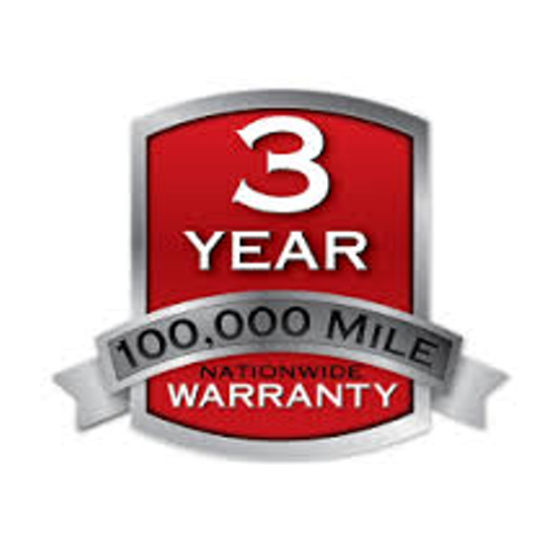 3 year 100,000 Mile Nationwide Warranty